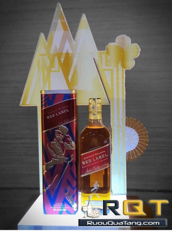 Rượu Johnnie Walker Red Label hộp quà tết 2020