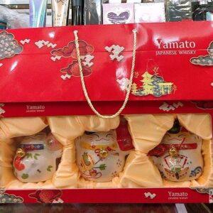 Set-ruou-3-con-meo-Yamato-Japanse-whisky